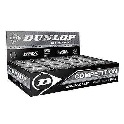 Dunlop Squashball Competition 12er Box