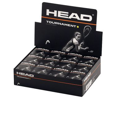 Head squashbal Tournament geel 12x