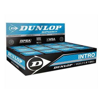 Dunlop Squashball Intro 12er Box