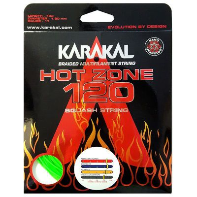 Karakal Hot Zone 120 Neon-Green 10 mtr.