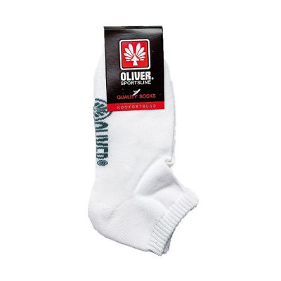 Oliver Indoor Sock White