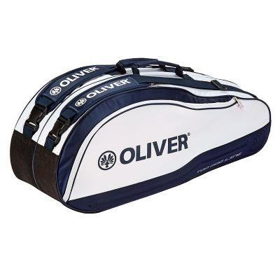 Oliver Racketbag Top Pro wit-navy