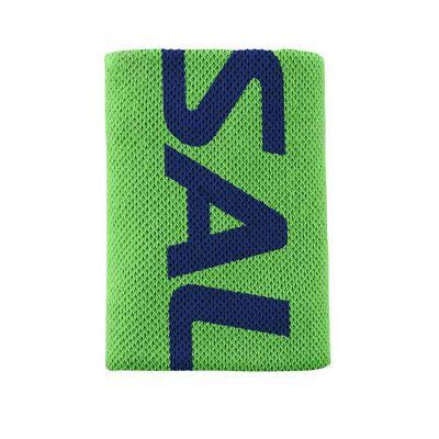 Salming zweetband XL 10 cm. groen