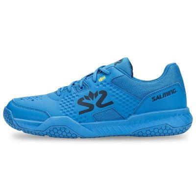 Salming Hawk Court Poseidon Blue LET OP UW SCHOENMAAT!!