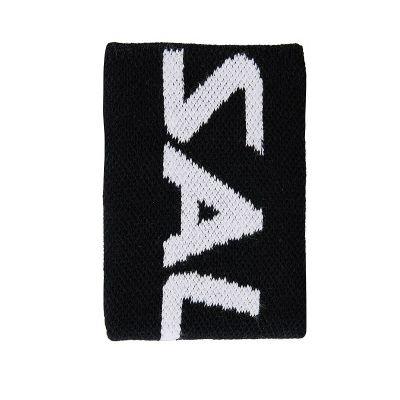 Salming zweetband XL 10 cm. zwart