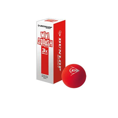 Dunlop Squashball Mini Fun 3 Box